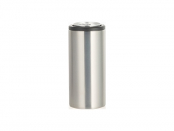 12oz/350ml Sublimation Stainless Steel Skinny Can Cooler (Silver)