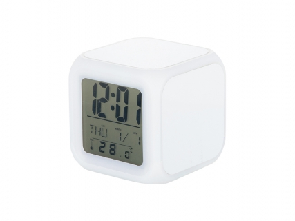 Glowing Led 7 Color Change Digital Alarm Clock