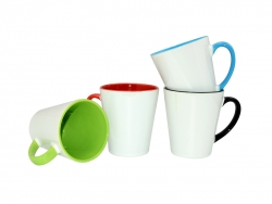 12oz Inner Rim Color Mug