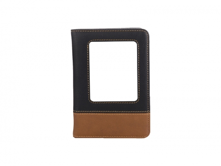 Sublimation Leatherette Passport Holder (10.2*14.6*1.3cm)