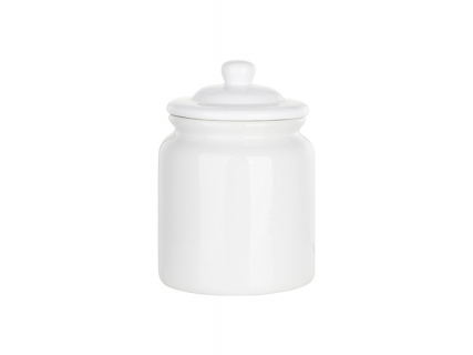 80oz / 2400ml Sublimation Ceramic Food Container