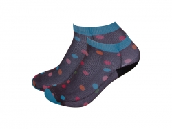 Sublimation Adult Ankle No Show Socks (8*19cm)