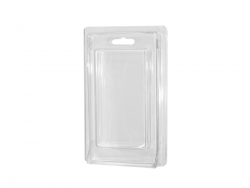 Cellphone Case Box ( Plastic, Clear )