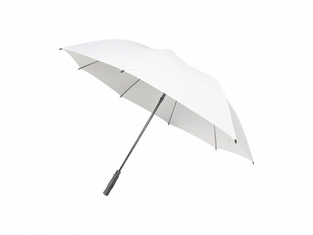 30inch Golf Umbrella(Self-Opening, White)