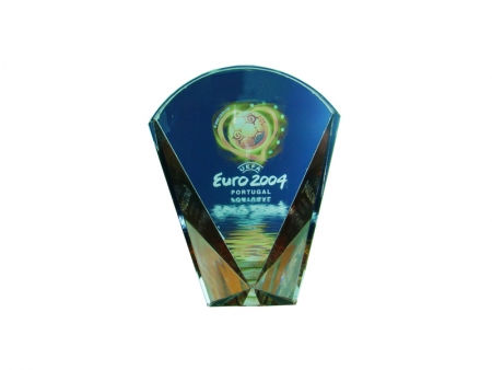 Sublimation Fan-shaped Trophy