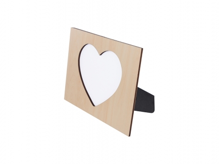 Sublimation Plywood Heart Frame (25*19cm)