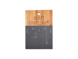 Bamboo with Slate Cutting Board (Rect,21*30cm)