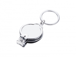 Nail Clipper Keyring with Bottle Opener