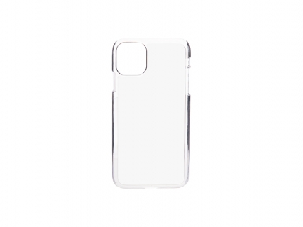 iPhone 11 Cover (Plastic, Clear)