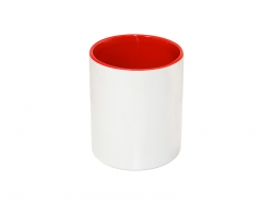 11oz Pencil Holder (Red)
