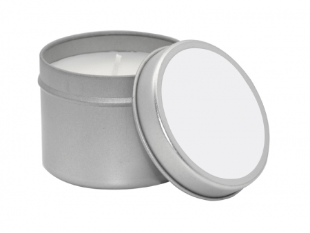 Sublimation Candle Metal Tin(5*6cm)