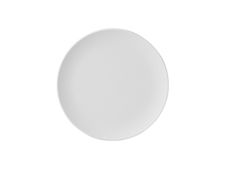 6 in. White Plastic Plate