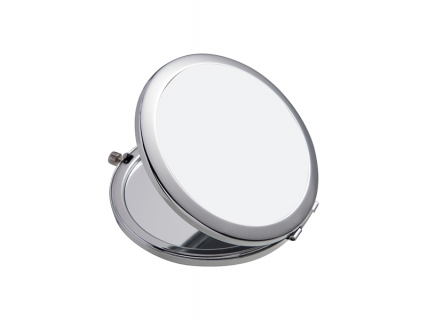 Sublimation Round Compact Mirror (Glossy, Φ7cm)