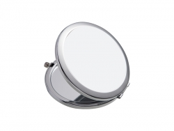 Round Compact Mirror (Glossy, Φ7cm)