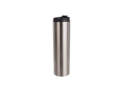 20oz/600ml Sublimation Blank Stainless Steel Flask(Silver)