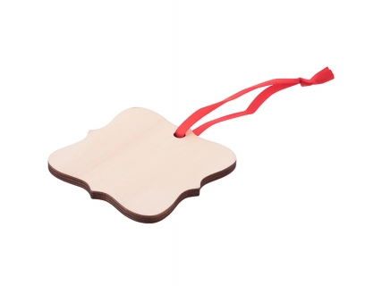 Sublimation Plywood Christmas Ornament (Lace)
