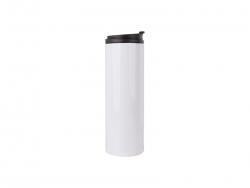 16oz/500ml Sublimation Stainless Steel Flask (White)