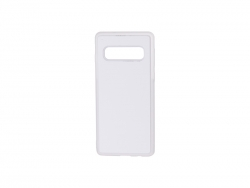 Samsung S10 Cover (Rubber, Clear)