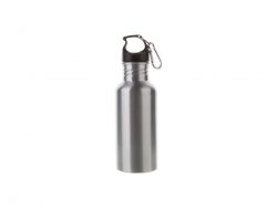 Sublimation 600ml Aluminium Water Bottle (Silver)
