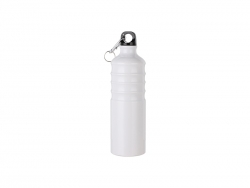Sublimation 750ml Aluminum Water Bottle (White)