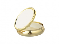 Pill Box(Round, Gold)