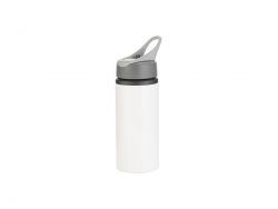 Sublimation 22oz/650ml Aluminum Bottle w/ Handle(White)