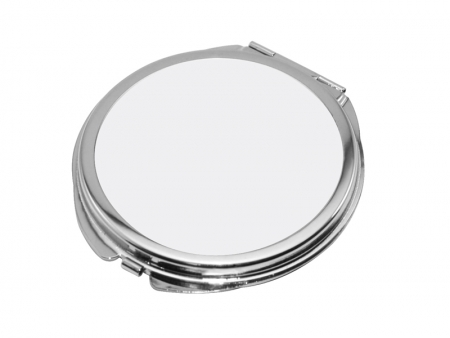Sublimation Round Shaped Compact Mirror(6.2*6.6cm)