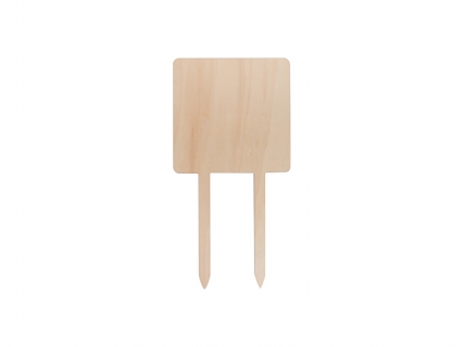 Sublimation Plywood Garden Stake (Square, 20*40cm)