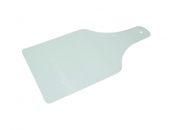 Wine Bottle shaped Glass Cutting Board
