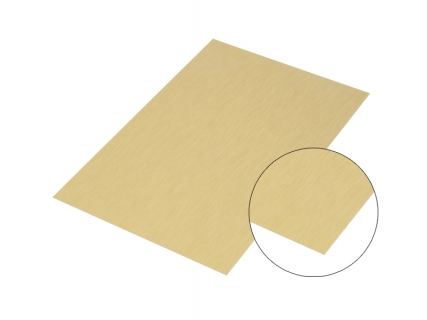 Sublimation Gold Aluminum Glossy Board