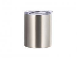 10oz/300ml Stainless Steel Lowball (Silver)