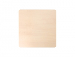 Sublimation Plywood Placemat (23*23cm)